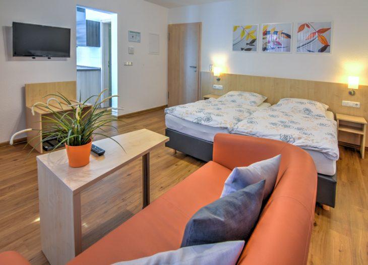Wohn- und Schlafzimmer - Clivia